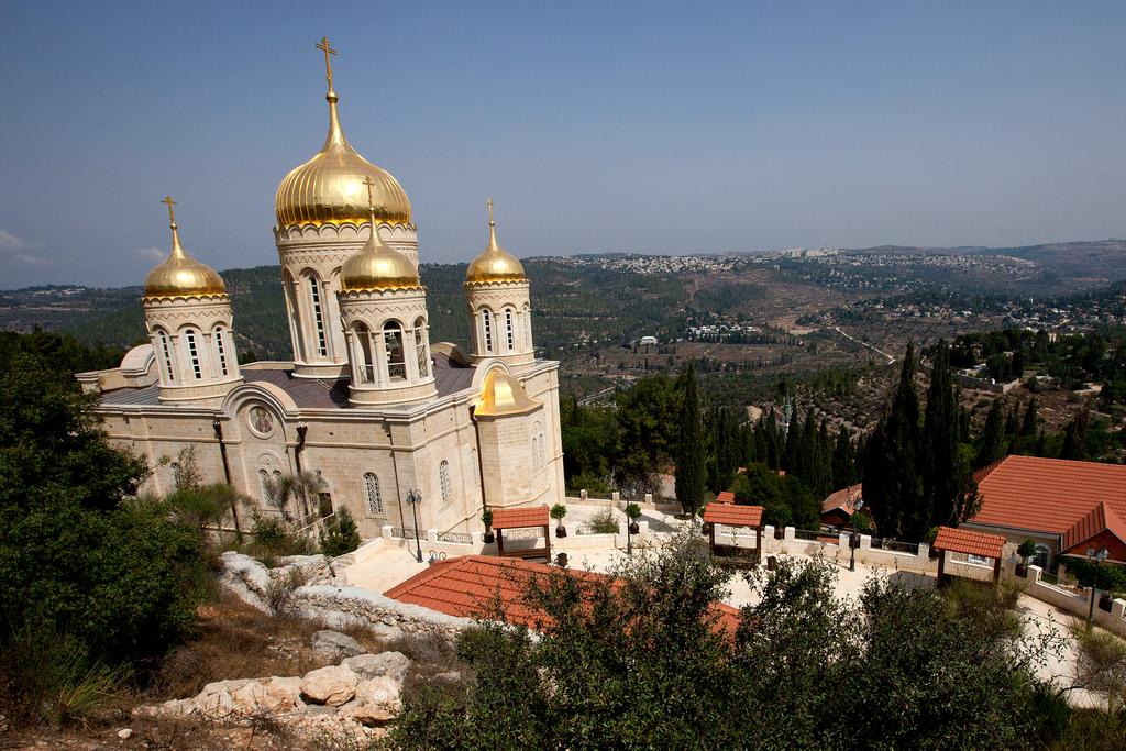 Уникальная возможность участия на службах в *Храме воскресения, *Храм Марии Магдалины, *Горненский монастырь