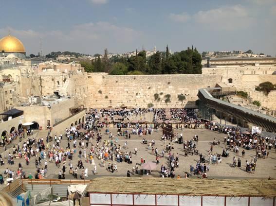 полдня на индивидуальной экскурсии по Иерусалиму и полдня на пляже