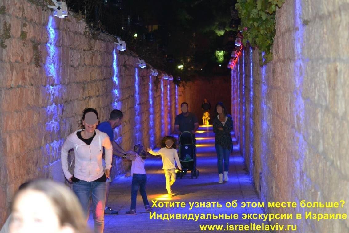 Ежегодное лазерное световое шоу в Иерусалиме